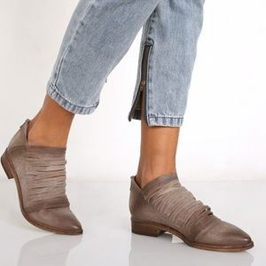 Free People Lost Valley Taupe Strappy Bootie